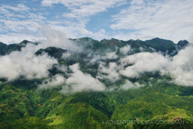 The mountains of Sapa, Vietnam