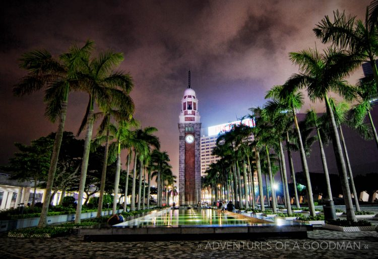 The Former Kowloon-Canton Railway Station clock tower