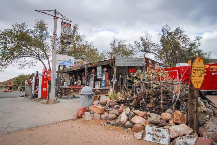 The Hackberry General Store in Hackberry, Arizona, on historic Route 66