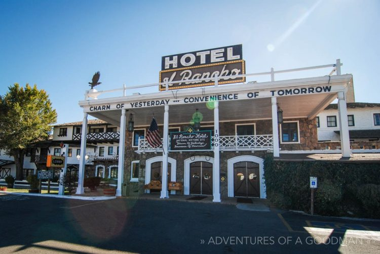 Hotel El Rancho in Gallup, New Mexico, on historic Route 66