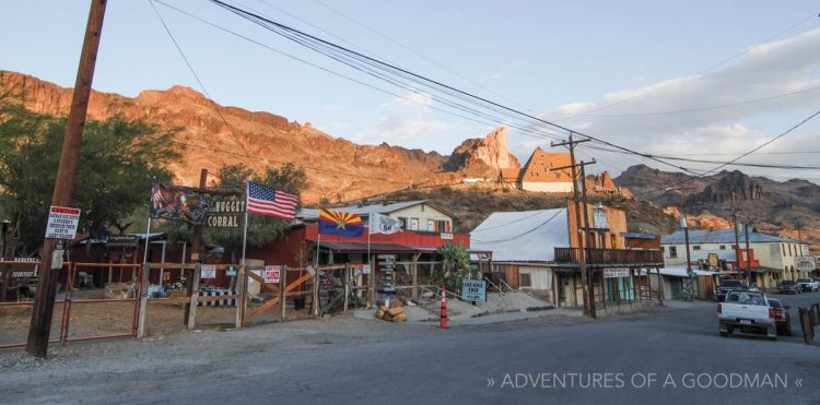 The Wild West town of Oatman, Arizona
