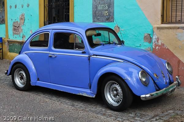 VW Beetle in La Boca, Buenos Aires
