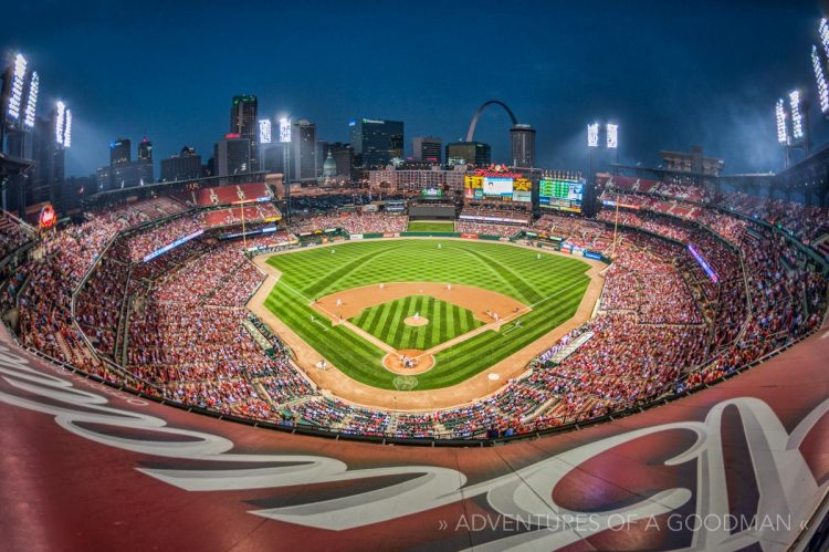 Busch Stadium baseball ballpark MLB St Louis Cardinals