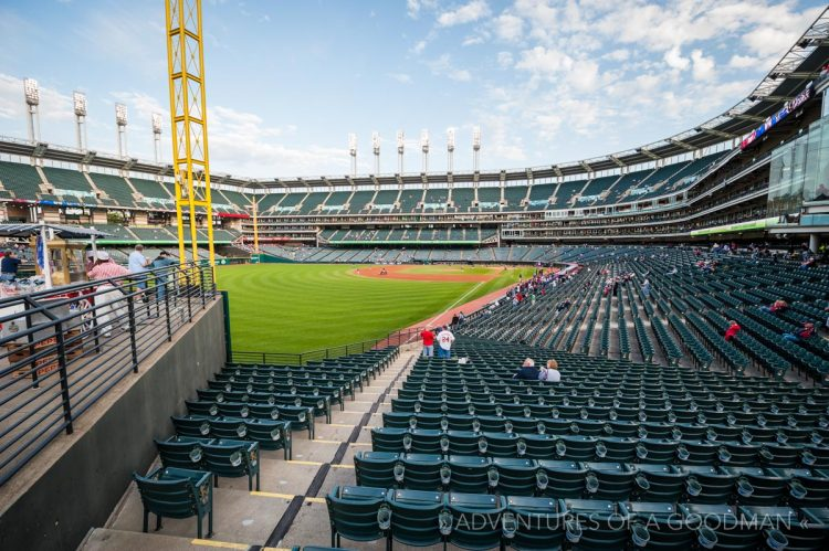 Progressive Field - Jacob's Field - Cleveland Indians - MLB Stadium Ballpark