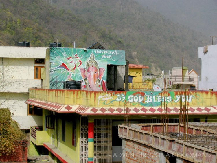 Universal Yoga – God Bless You – Rishikesh, India