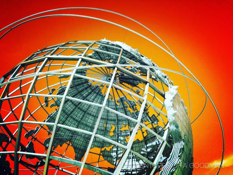 The Unisphere was part of the 1964 World's Fair in Queens, New York City