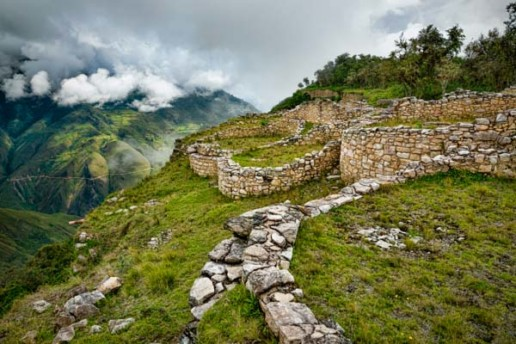 The ancient fortress of Kuelep, Peru
