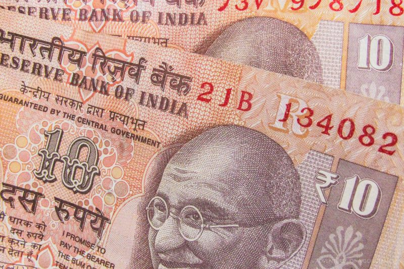 Indian Rupees were worth roughly 50:1 in 2009