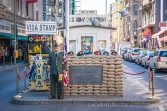 Checkpoint Charlie has become one of Berlin's most famous tourist attractions
