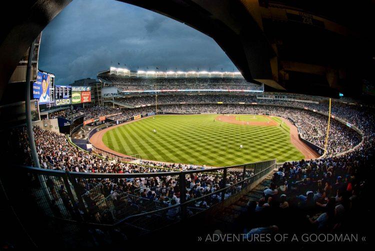 Yankee Stadium - Fisheye - Arches - New York City - USA - Baseball