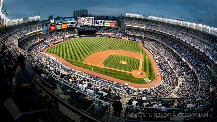 Inside Yankee Stadium 187 Home Of The New York Yankees
