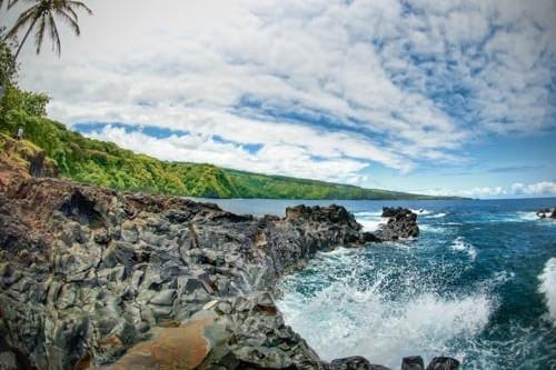 Maui Hawaii Wave Nature
