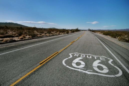 Route 66 in Essex, CA