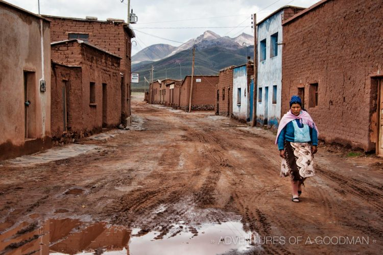 San Pablo de Lipez is a small mountain town of 500 residents in the Potosi Department of Bolivia.