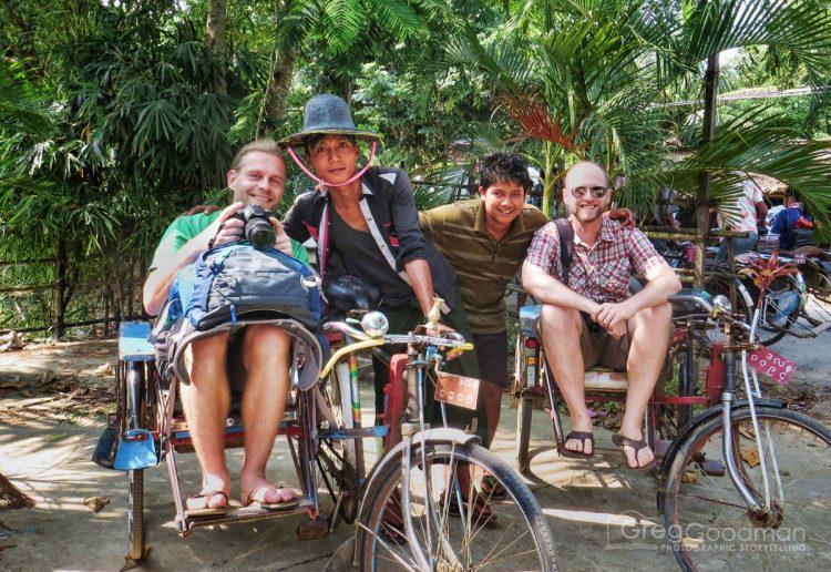 A tour of Dala, Yangon