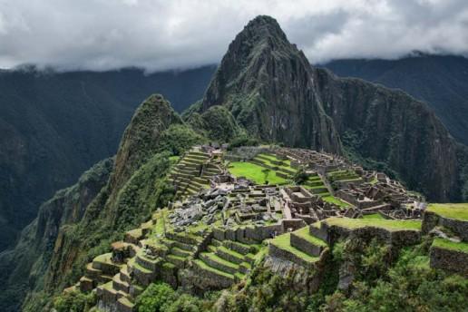 The classic Machu Picchu postcard shot.