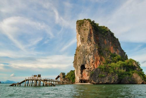 James Bond Island in Phang Nga Bay, Southern Thailand