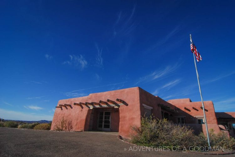 The Painted Desert Inn at the Petrified Forest National Park in Navajo, Arizona