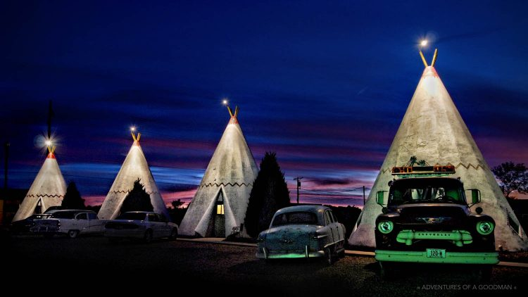 Wigwam Motel in Holbrook, Arizona on Route 66