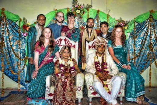 An Indian wedding in Rishikesh
