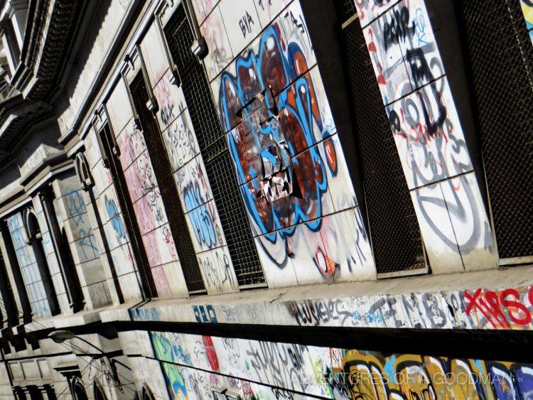 Graffiti in Valpariso, Chile