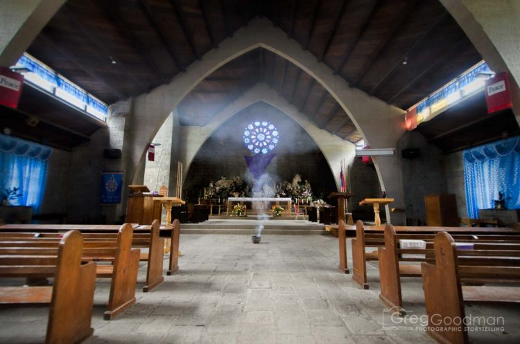 Church of St. Mary the Virgin in Sagada, Philippines