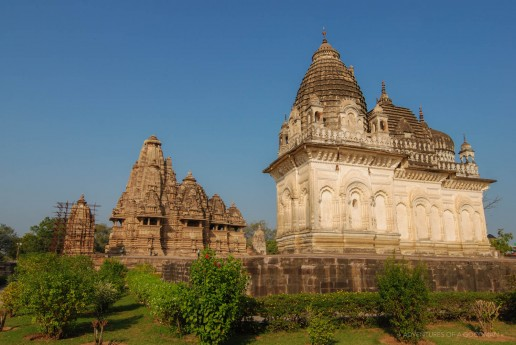 Temples in the Western Monument Group of Khajuraho,India
