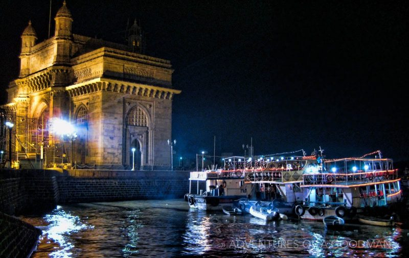 Gateway of India during the Sa Re Ga Ma Pa Challenge in 2009