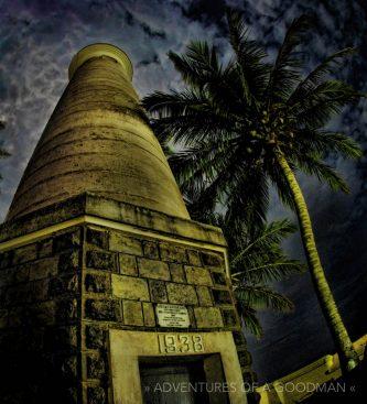 The Galle Fort lighthouse, Sri Lanka