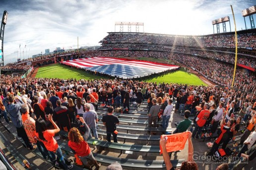 Game 4 of the 2014 NLCS at AT&T Park